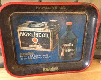 Havoline Oil Tray