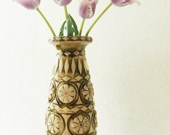 West Germany vase, Bay, green