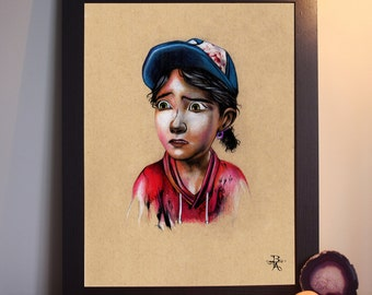 Clementine from The Walking Dead Telltale Games - A4 Prints