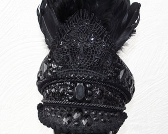 The Black Empress Burning Man Hat