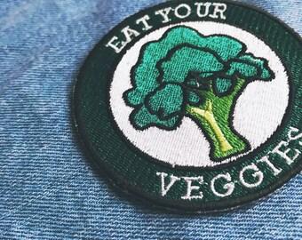 Vegetarian Iron-OnPatch
