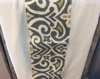Kitchen Towel   Grey   Mustard   Flour Sack