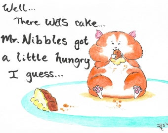 Mr.Nibbles Birthday Card