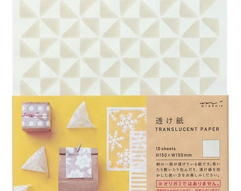 Translucent paper, Windmill  paper, Scrapbook paper sheets, Gift Wrapping, Paper folding, Japanese paper