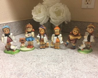 Vintage Kurt S Adler Collectable Hummel Christmas Holiday Ornaments