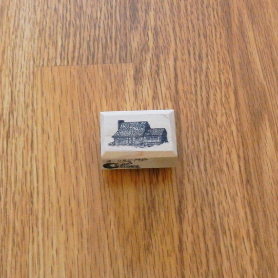 Log House Small 0 75 Tall X 1 5 Wide 1 Pc Sut
