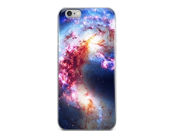 Antennae Galaxies • iPhone 5, 5s, SE, 6/6s, 6/6s Plus Case