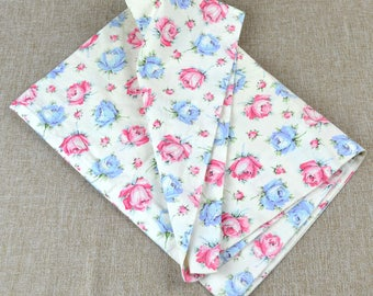 Vintage Rose Pillowcase- Dan River Fine Muslin