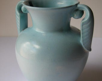 Stangl Light Blue Urn Vase