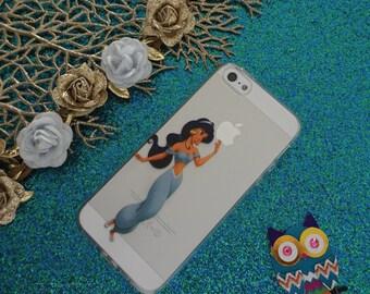 Princess Jasmine - iPhone Case - Pretty - Girls - Gift - Cartoon Picture -  iPhone 4/4s Case - iPhone 5/5s Case - iPhone 5c Case
