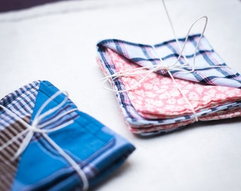The p' small handkerchiefs - set of two - ZERO WASTE
