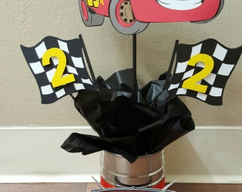Disney Cars Centerpieces