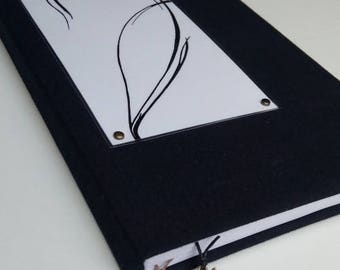 Black notebook Sketchbook Graphic Hand made