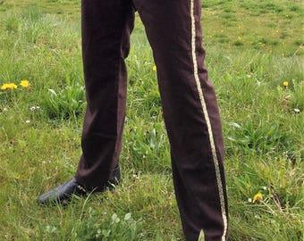 Medieval linen trousers Middle Ages, Larp