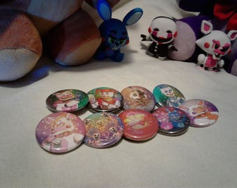 Sister Location - Button Set 1#