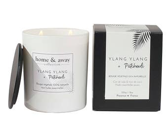 Natural scented candle - Ylang ylang and patchouli
