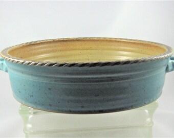 Stoneware French Casserole Dish