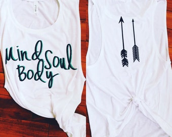 Mind Body Soul Bella Muscle Tank