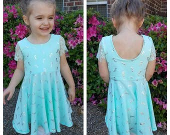 Infant Toddler Twirly Dress