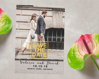 CUSTOM Save the Date Postcard, Custom Photo Save-the-date Card, Announcement Invite, Photo Wedding Postcard, DIGITAL FILE 5x7