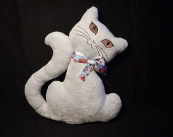 Soft minky cat