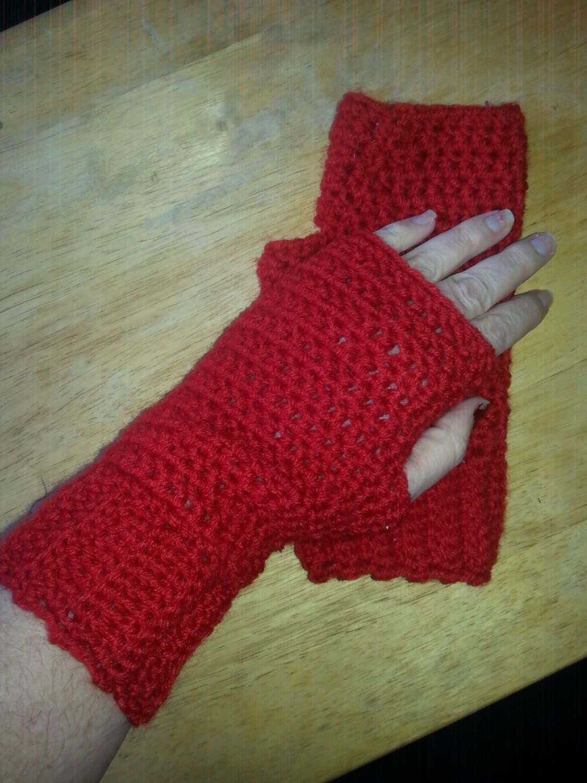 Driving texting gloves - Red Fingerless Gloves Wool Blend Fingerless Mittens Driving Gloves Driving Mittens Texting Mittens Typing Gloves Typing Mittens