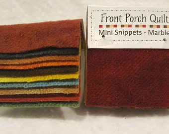 Front Porch Quilts Mini Snippets- Marbled
