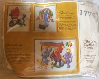 The Creative Circle Vintage Applique Quilted Picture Kit #1776
