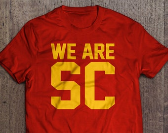 We Are SC - USC Trojans Football Cotton T-Shirt