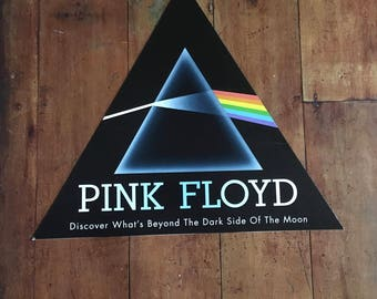 Pink Floyd Dark Side Of The Moon Capitol  Records  Hanging Mobile Display 1994 Original Rare Vintage