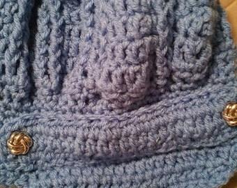 Crochet stylish hat
