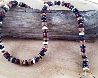 Stained wood chain