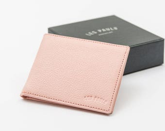 Leather Wallet / Pink