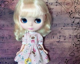 Blythe Doll Dress *Sweet Ragdoll Cat*