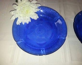 Cobalt Blue Fortecrisa Mexico Dinner plates SET OF 6