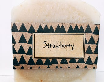 Just Strawberry Soap