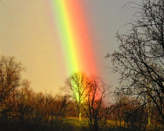 End of the rainbow..