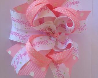 Custom Boutique Princess Hair Bow