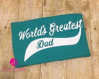 World's Greatest Dad Personalization Upcharge