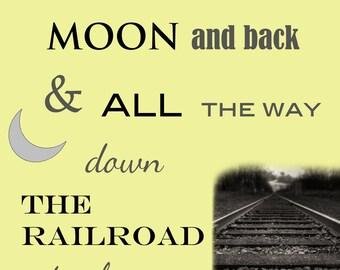 Love you down the railroad track