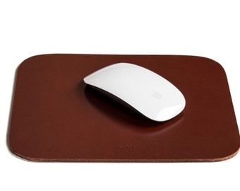 Leather - Leather mouse pad mouse pad