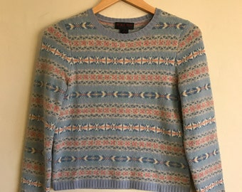 Vintage Pastel Ralph Lauren Sweater Size Small, Ralph Lauren Sweater