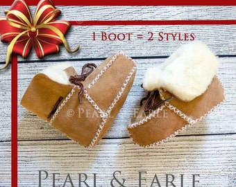 Baby Boots, Winter Baby Boots, Infant Boots, Winter Baby Clothes, Baby Hat, Baby Leather Boots, Toddler Boots, Baby Shoe, ugg, Baby Gift