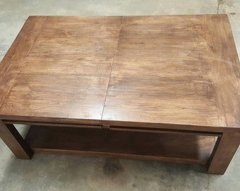 Hickory Game Coffee Table.