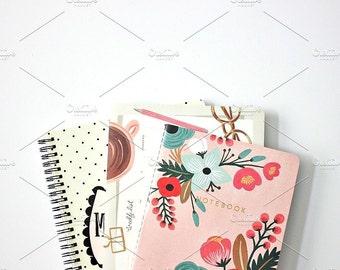 Styled Stock Photo | Stacked Stationery | Blog stock photo, stock image, stock photography, blog photography