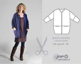 Sewing Pattern - Cocoon Jacket