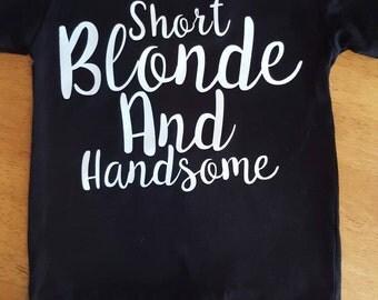 Short Blonde and Handsome