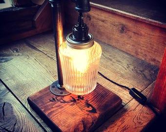 Industrial Stag Kilner Lamp
