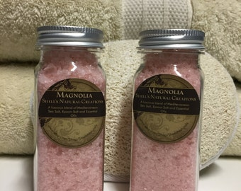 All natural Bath Salts. Buy 2  4 oz bottles