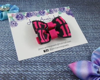 One Direction Bow Tie Hair Clip - Set of 2